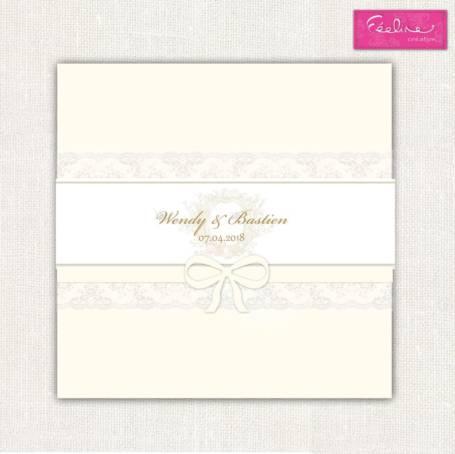 Couverture livre d'or Mariage couleur rose pâle