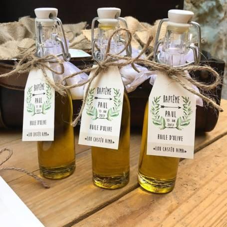 Mignonnettes d'huile d'olives,