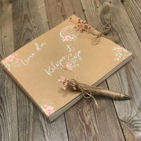 livre d'or pour baptême ou mariage