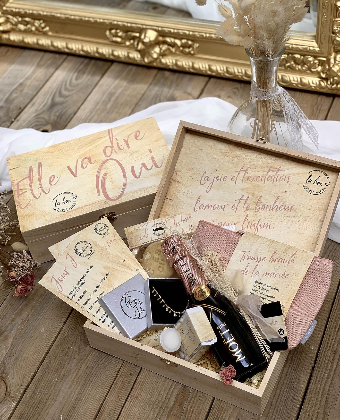 Box spéciale MariagePour les mariés, les témoins et Evjf-Evg