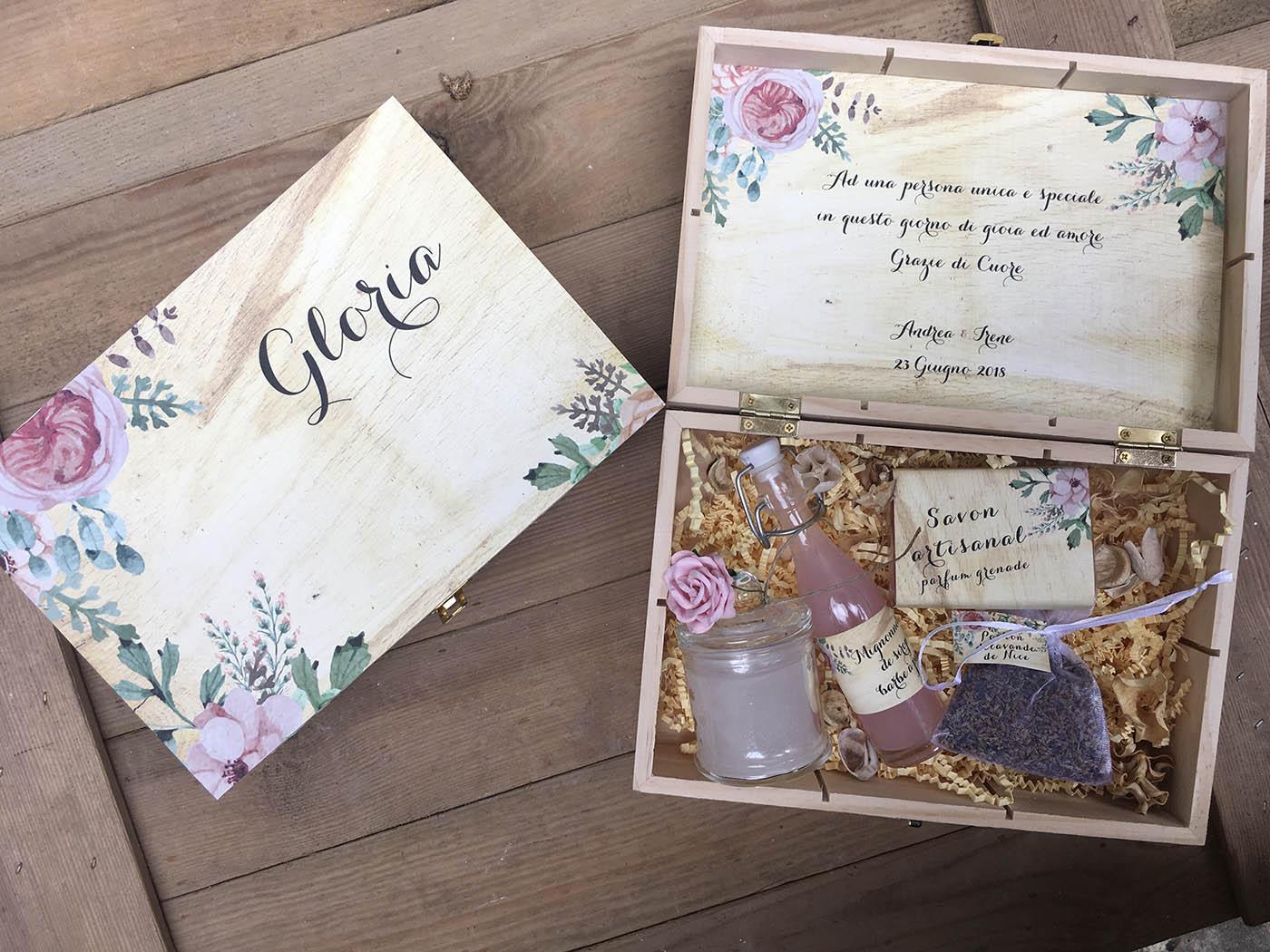 Box spéciale MariagePour les mariés, les témoins et EVJF EVG